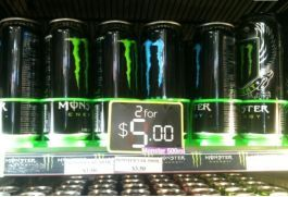 Monster cans 500ml for just 2 for $5