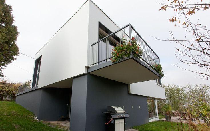 Isolation thermique - maison d'architecte des années 60