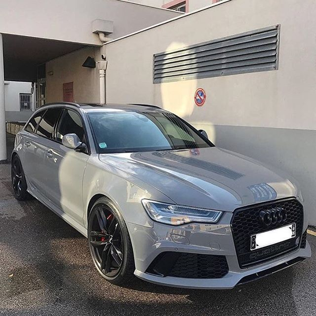 Audi RS6 Gris Nardo  @mensfashions Photo: @msmotors via LUXURY LIFESTYLE MAGAZINE OFFICIAL INSTAGRAM - Luxury  Lifestyle  Culture  Travel  Tech  Gadgets  Jewelry  Cars  Gaming  Entertainment  Fitness