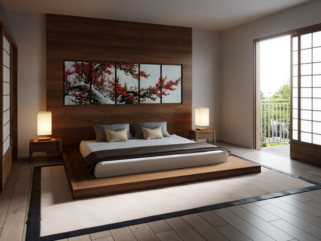 Modern Zen Style Living Room Japanese Style Bedroom Asian Style Bedrooms Japanese Home Design