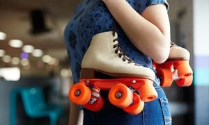 Groupon - Roller-Skating Package for Two or Four at Hot Skates Roller Skating Center (Up to 52% Off)   in Hot Skates Roller Skating Rink. Groupon deal price: $16