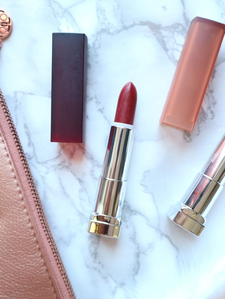 Maybelline Powder Matte Lipstick in Touch of Nude and Plum Perfection | Makeup in Manila