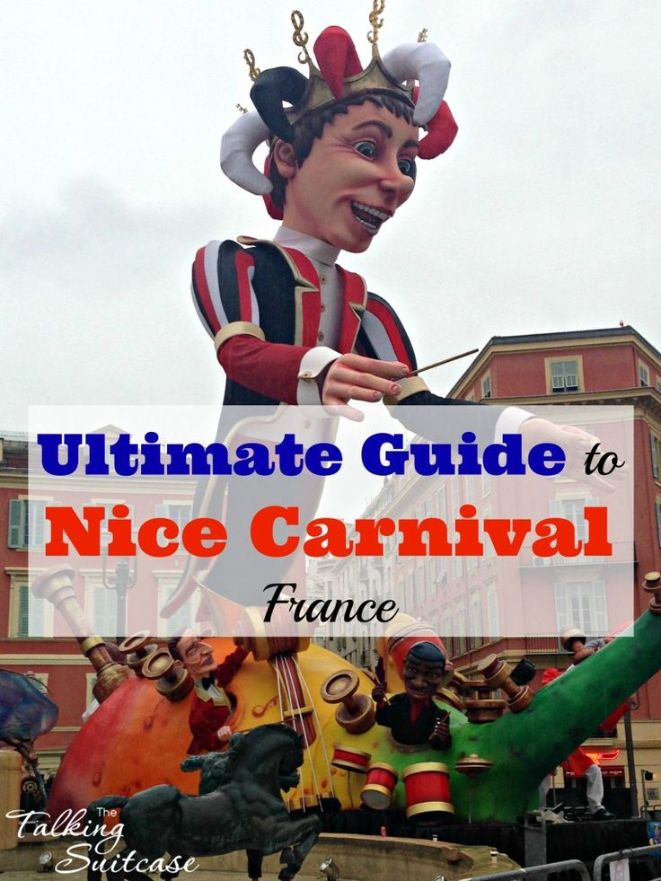 The Carnival Nice or Carnaval de Nice is one of the largest carnivals in the world. See my ultimate guide to the Carnival to help you save time and money.