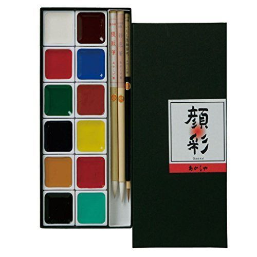 Akashiya Paint Picture Letter Set 12 Colors Ap300 12v F S From