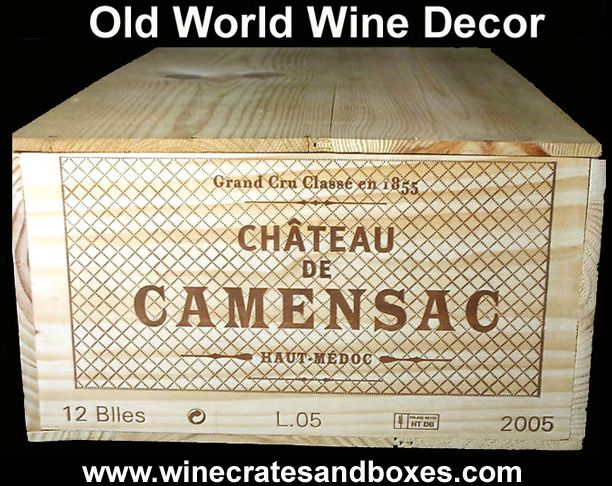 The 25 best wooden wine crates ideas on pinterest for Empty wine crates
