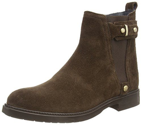 Tommy Hilfiger HOLLY 3B, Damen Chelsea Boots, Braun (COFFEE BEAN 212), 36 EU - http://on-line-kaufen.de/tommy-hilfiger/36-eu-tommy-hilfiger-holly-3b-damen-chelsea-boots