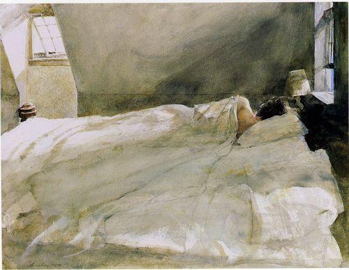 Andrew Wyeth Master Bedroom | Jamesbit Design