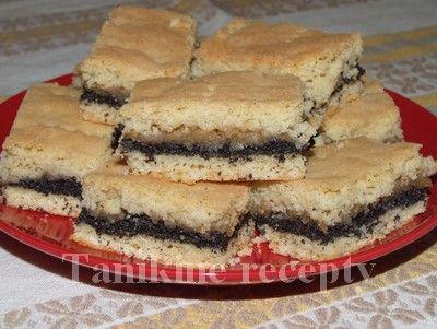 Jablkovo - makový koláč :: Recepty