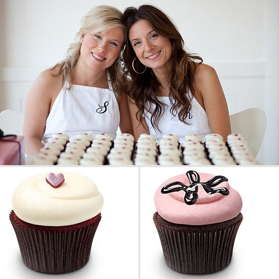 Georgetown Cupcake Strawberry lava cupcake, chocolate ganache cupcake, and vanilla red velvet cupcake Recipes.