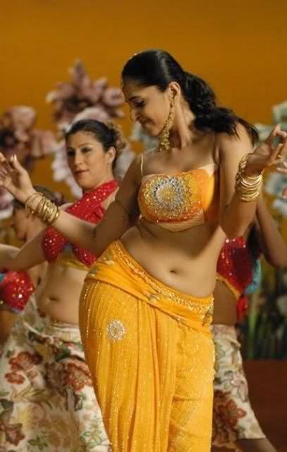 Anushka shetty hot belly