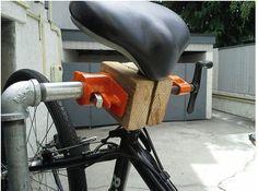DIY Bicycle Repair Stand by Andrew Li   Bike Commuters