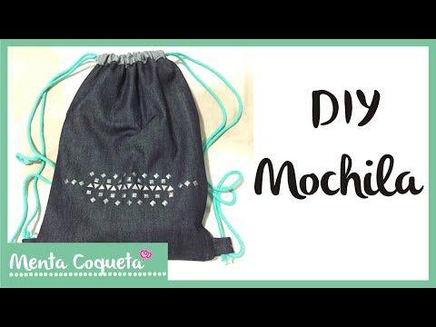 DIY - Como hacer una mochila :) - YouTube