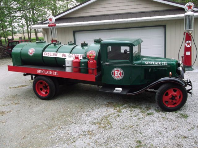 1933 Ford Model BB Truck, Sinclair Oil Delivery Tanker,Pickups, Body Off (NICE) …