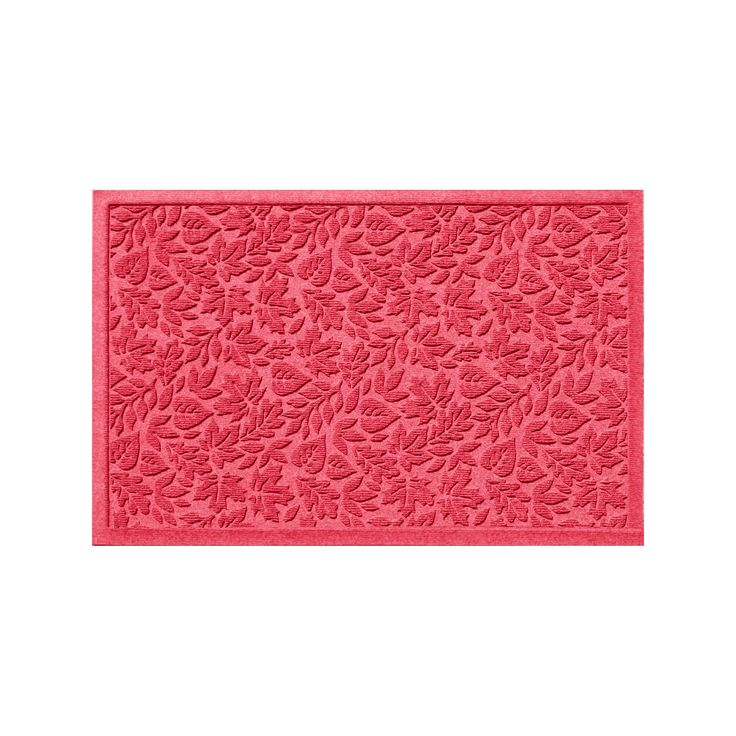 WaterGuard Fall Day Indoor Outdoor Mat, Red