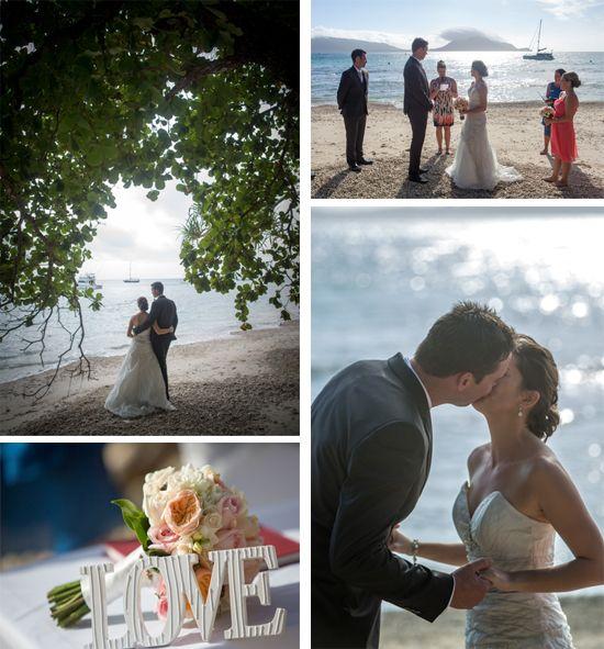 Gorgeous Wedding at Fitzroy Island