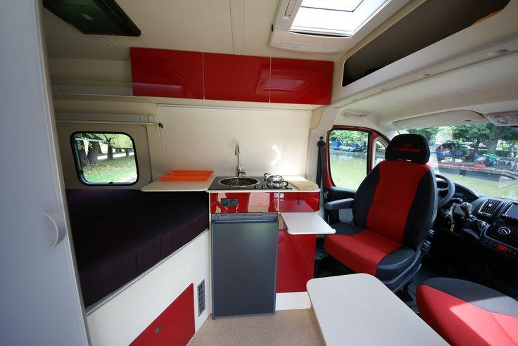 Eastwander - Obytné automobily, karavany, obytné vozy » Model Sportissimo S