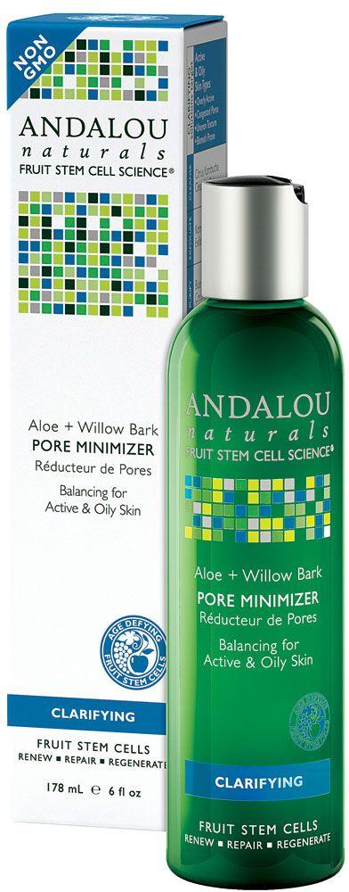 Andalou Naturals Clear Skin Willow Bark Pure Pore Toner — 6 fl oz