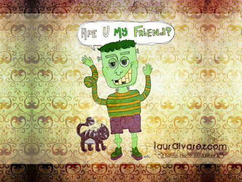 Are U my Friend? Downloadable Wallpaper