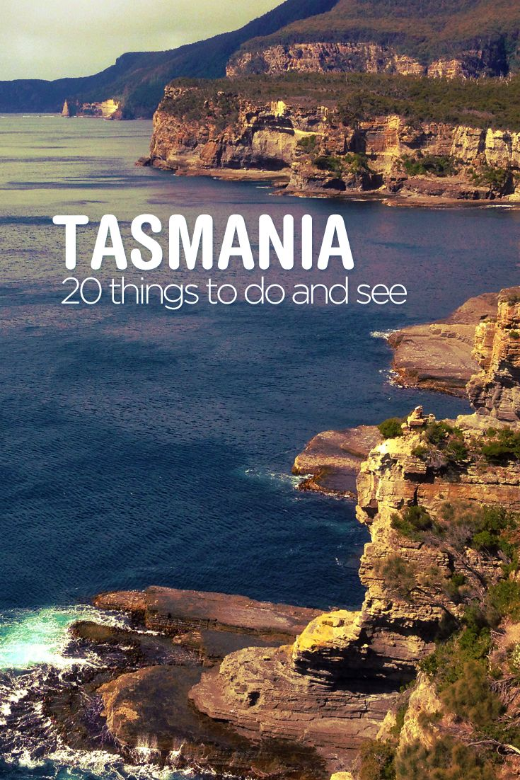 20 amazing things to see and do in Tassie