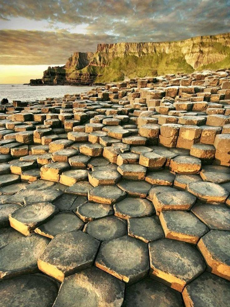 Co Antrim's Giant's Causeway is a true world wonder