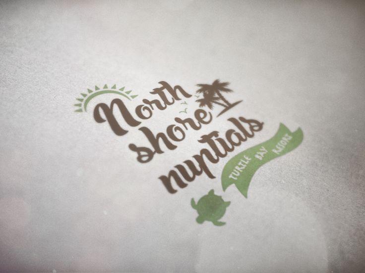 """Logo """"North Shore Nuptials"""""""