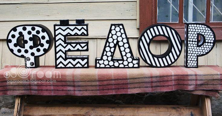 OGOroom: Большие буквы