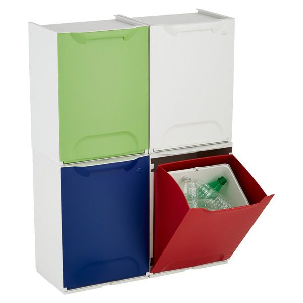 Kitchen Helpers: 10 Multi Compartment Sorting Garbage U0026 Recycling Bins U2014  Apartment Therapy Home Remedies
