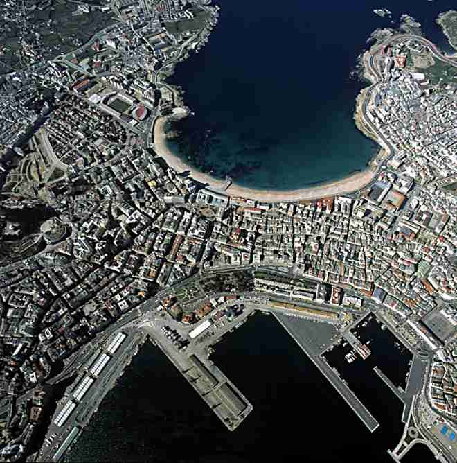 33 best images about la coru a ciudad en la que nac on - Mandarina home coruna ...