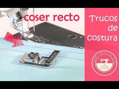 Costuras rectas con estos 5 trucos para no torcerte al coser | Manualidades