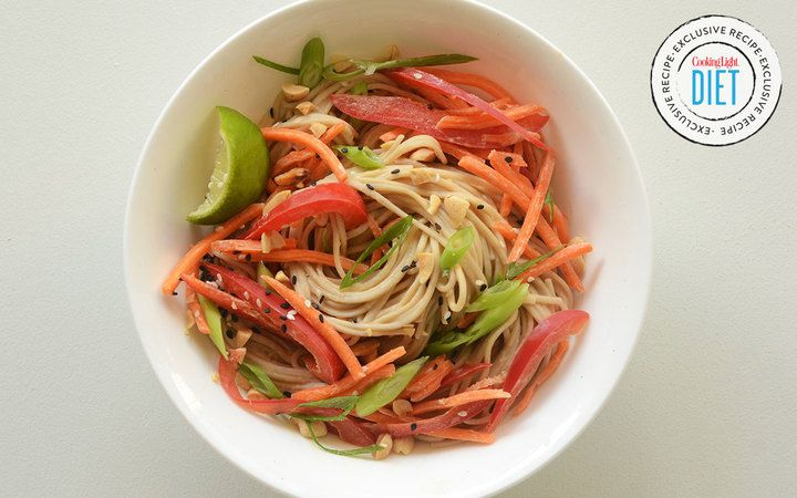 Veggie Soba Noodle Salad from the Cooking Light Diet