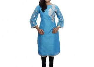 How to find a great embroidered kurti online?