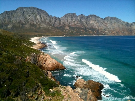 The road around False Bay