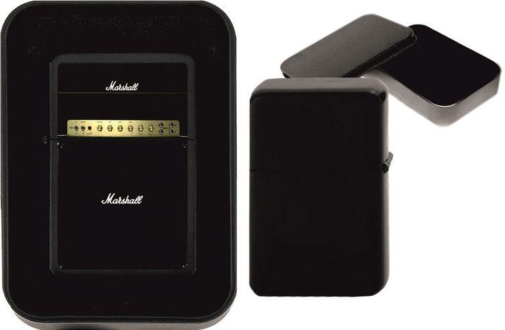 Marshall Guitar Amp Photo on Black Chrome Metal Petrol Lighter Birthday Gift | eBay