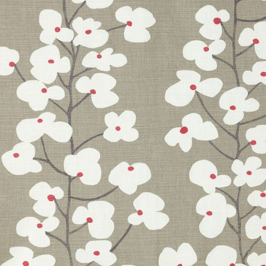 Wallflower pencil pleat curtains from John Lewis