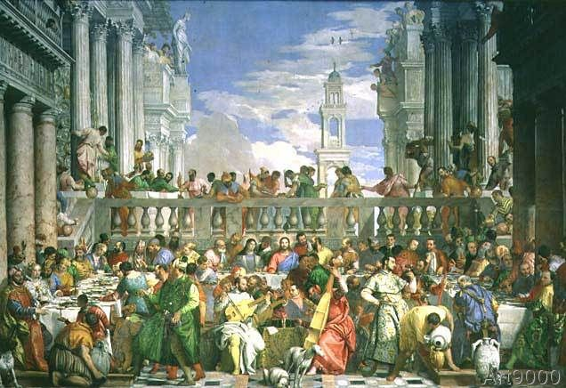 Veronese - The Marriage Feast at Cana, c.1562