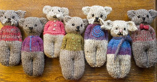 Ravelry: Animal Comfort Dolls pattern by P.K. Olson