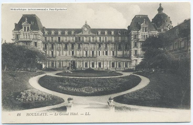 Awesome - 0ostcard from Claude Debussy to Paul-Jean Toulet from the Grand Hotel in Houlgate 1911 thttp://www.normandythenandnow.com/houlgate