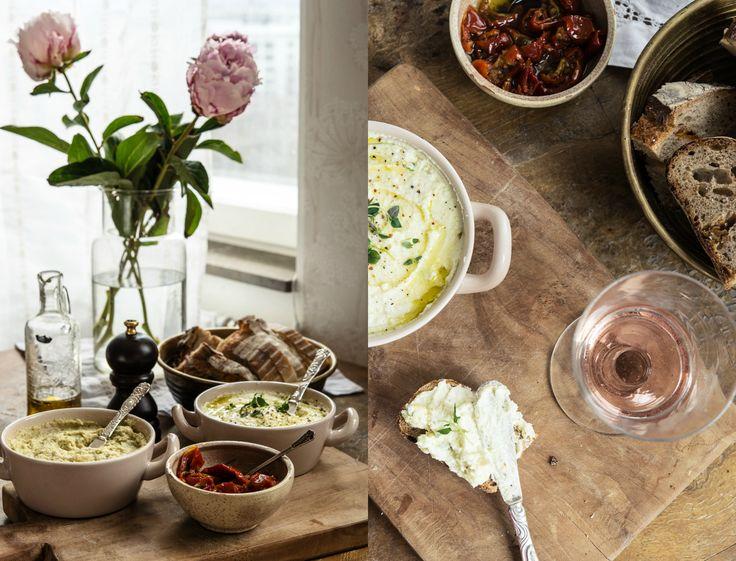 Crema de feta y limón & Crema de alcachofas {para estrenar el fin de semana} – Delicious Stories