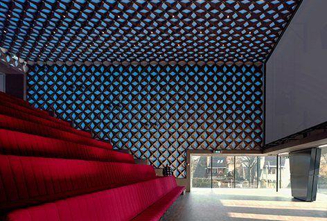 Ses ve Görüntü, Hilversum, 2006 Hollanda Araştırma Enstitüsü - Neutelings Riedijk Mimarlar