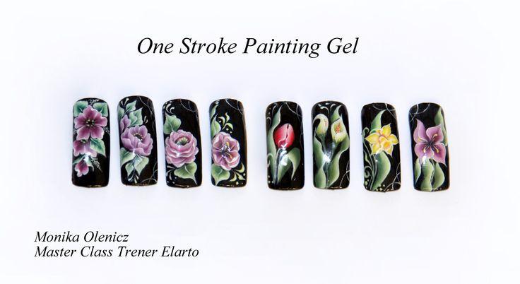 One Stroke Painting Gel