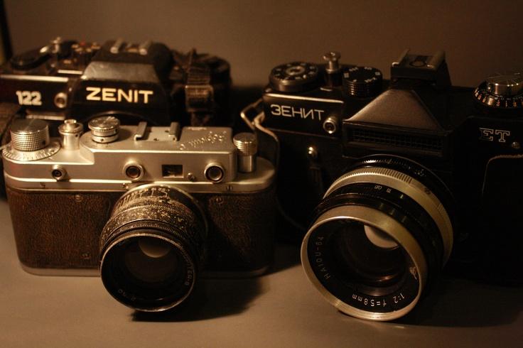 Russian Cameras | Zenit ET | Zenit 122 | Zorki S