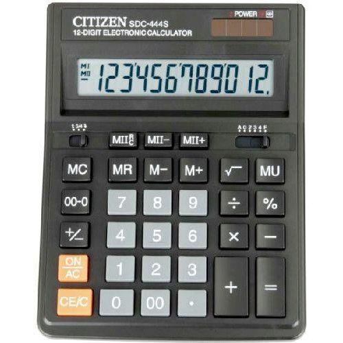 Asztali nagy számológép 1 2 karakteres Citizen SDC-444S