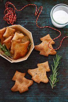 Recette de crackers au yaourt et au fromage. Faciles et parfaits pour l'apéritif.