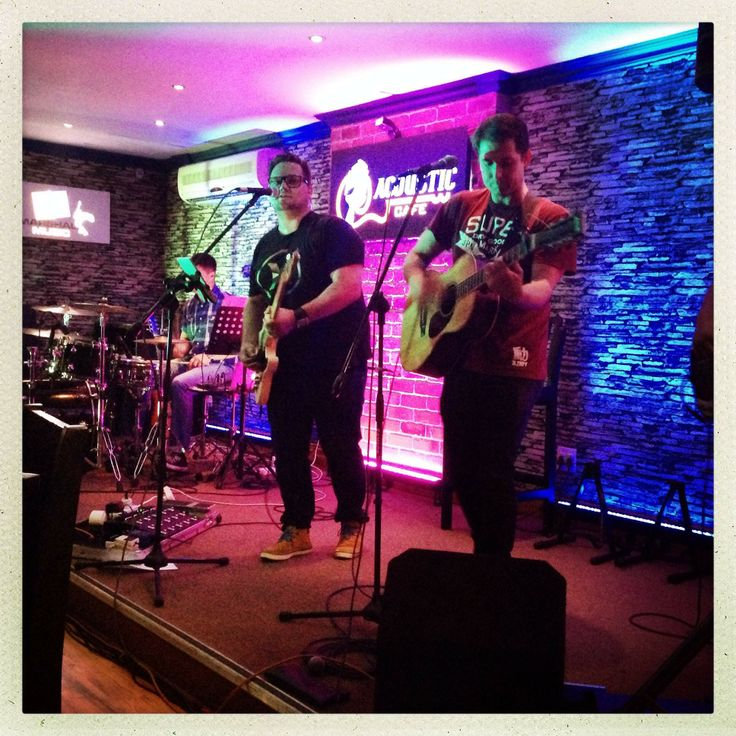 ALL THINGS NEW album launch...performing with with Mark Counihan at Acoustic Cafe 28 March 2014