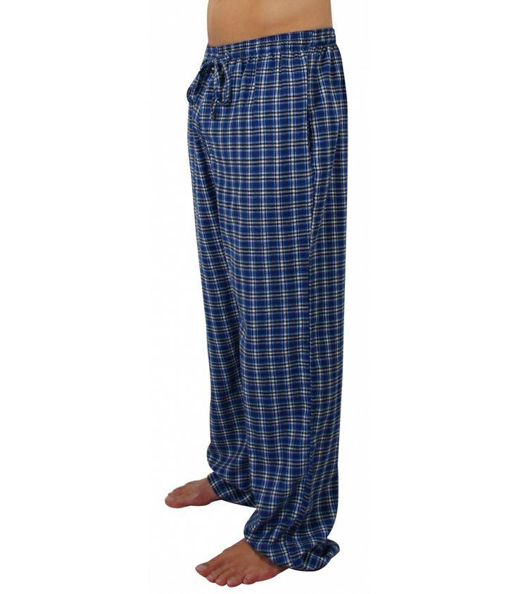 MG-1 Flanell Pyjamahose mit schickem Karomuster.  Die Hosen sind lang und weit geschnitten und haben eine lockere, bequeme Passform. Sie bestehen aus 100% Baumwollflanell und sind angenehm weich und wärmend. Guter Sitz wird durch den gerafften Bund mit Tunnelzug gewährleistet und die Hose verfügt über 2 eingearbeiteten Seitentaschen. Für weitere Infos: http://www.boxxers.de/MG-1-Flanell-Pyjamahose-blau-schwarz-weiss