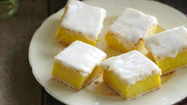 If you've never tried making custard squares before, be sure to give these a go…