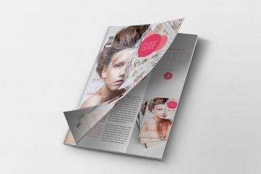 Magazine Mockup Cover Opening by Original Mockups on Original Mockups