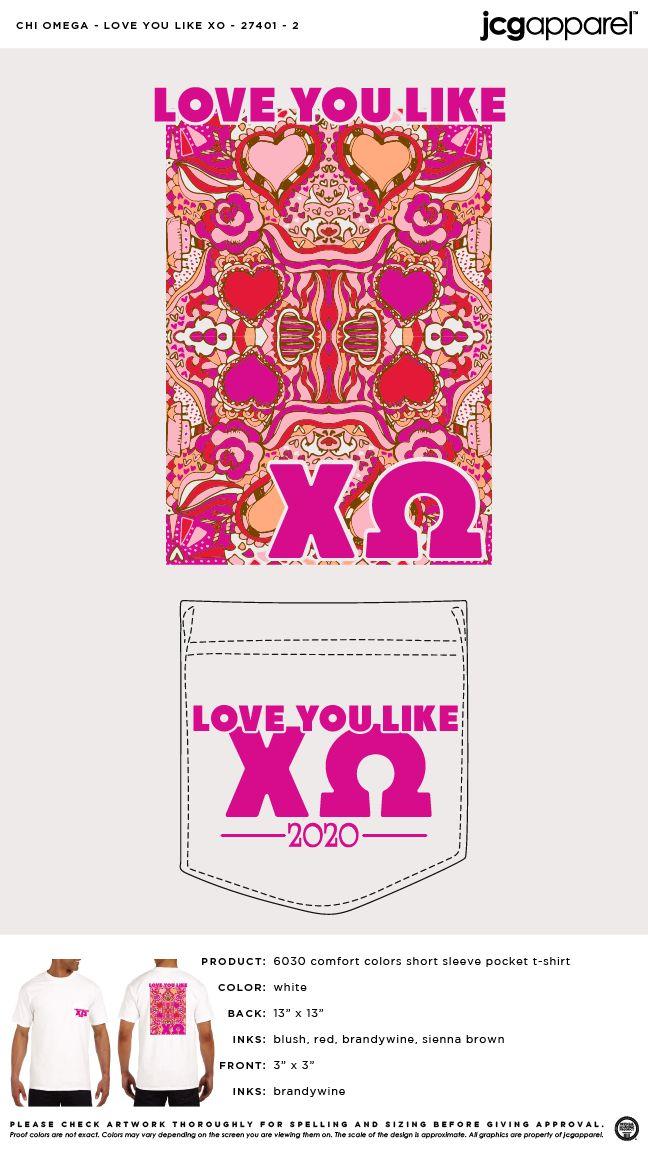 Love quote : I Love You Like XO - You Love Me Like XO