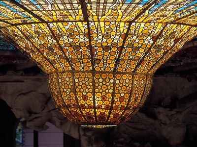 Upside Stained Glass dome, Palau de la Musica Catalán, Barcelona, Spain: Google Image, Window Moving, Art, Image Results, Stained Glass