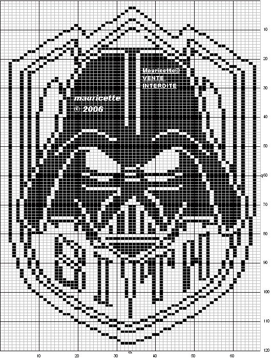Star Wars perler bead pattern by Mauricette